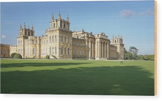 A View Of Blenheim Palace Wood Print