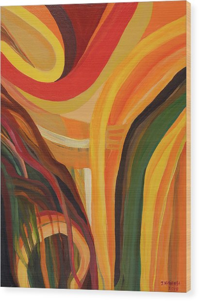 A Vision Wood Print