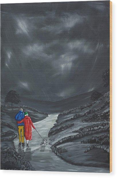 A Wee Bijou Strollette Wood Print