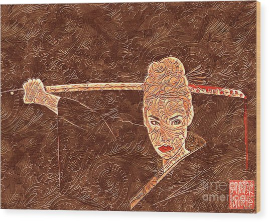 A Woman Scorned Wood Print