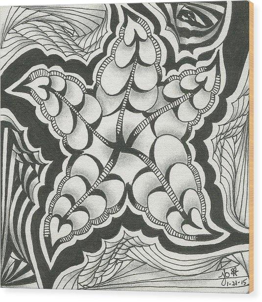 A Woman's Heart Wood Print