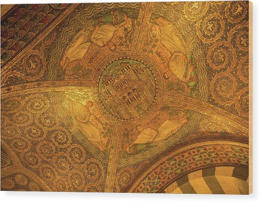 Aachen Cathedral Wood Print