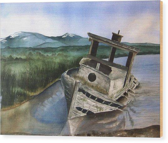 Abandoned Wood Print
