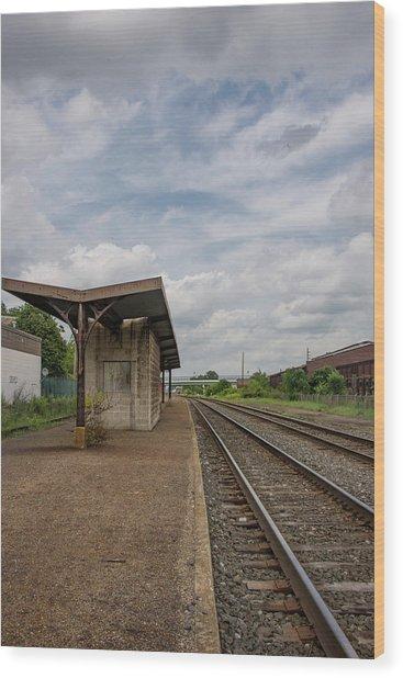 Abandoned Depot Wood Print