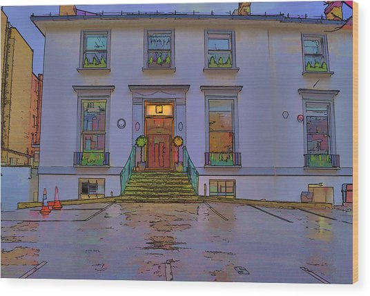 Abbey Road Recording Studios Wood Print