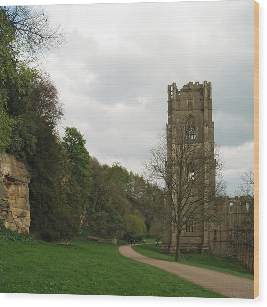 Abbot Huby's Tower 2 Wood Print