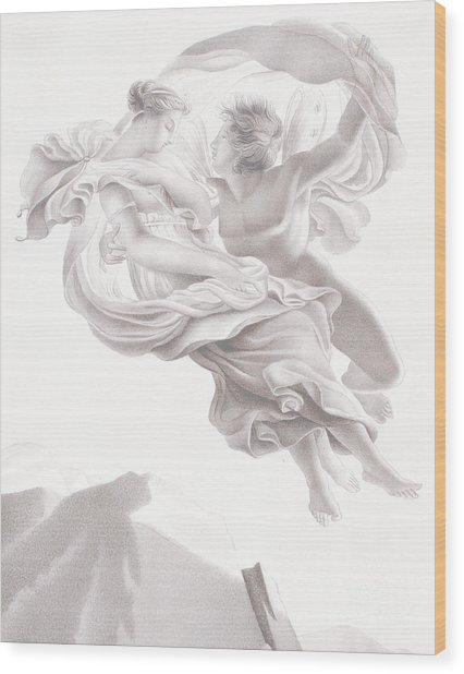 Abduction Of Psyche Wood Print