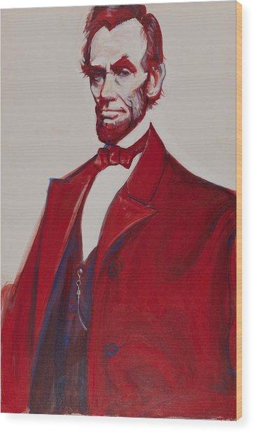 Abe Wood Print