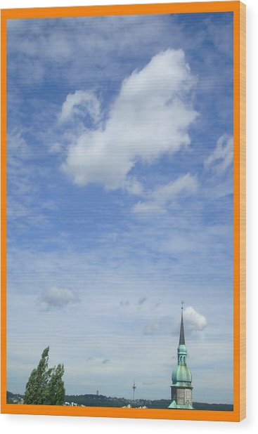 About Reaching The Sky Wood Print by Allen Rybo