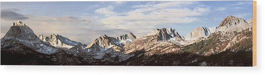 Above South Lake Wood Print by Larry Darnell