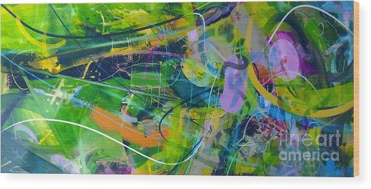 Abstract # 12015 Wood Print