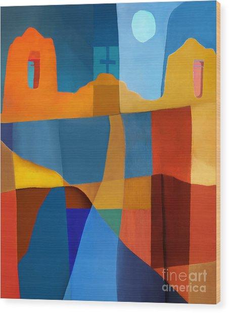 Abstract # 2 Wood Print