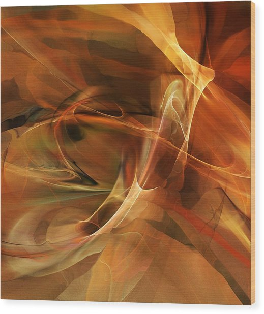 Abstract 060812a Wood Print