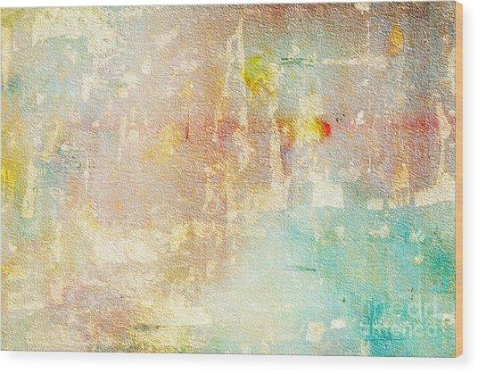Abstract 110 Wood Print