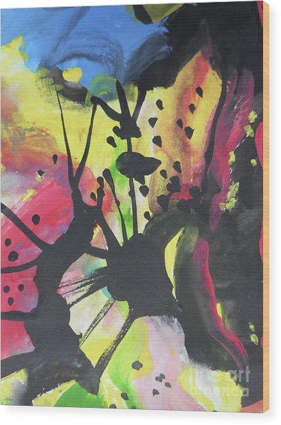 Abstract-2 Wood Print