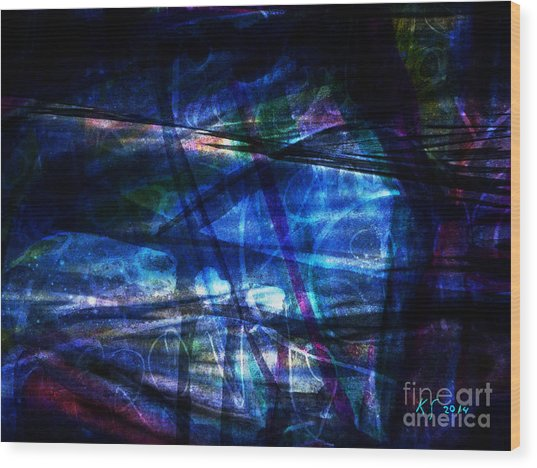 Abstract-20a Wood Print