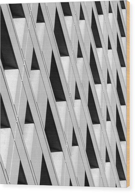 Abstract 2211 Wood Print