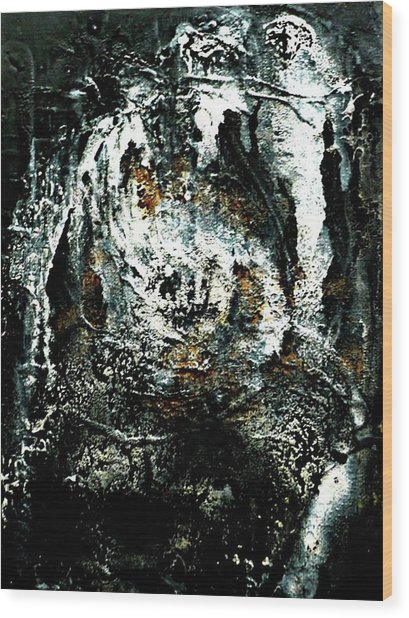 The Apparition Wood Print