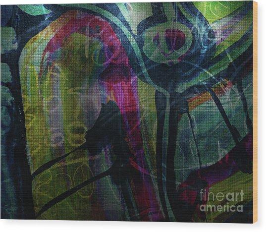 Abstract-30 Wood Print