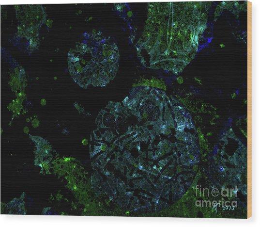 Abstract-32 Wood Print