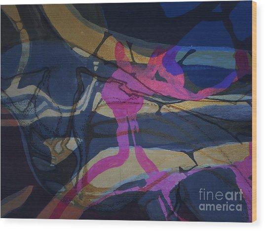 Abstract-33 Wood Print