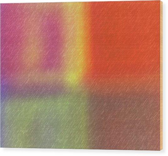 Abstract 5791 Wood Print