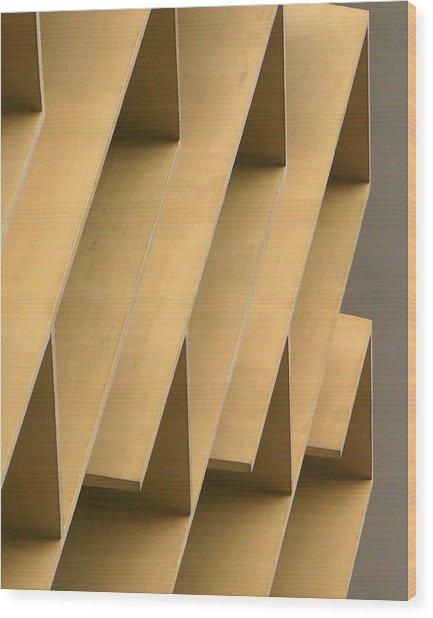 Abstract 7277 Wood Print