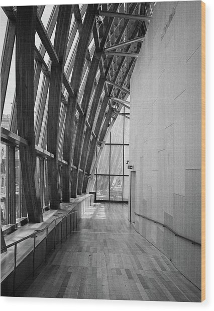 Abstract Architecture - Ago Toronto Wood Print