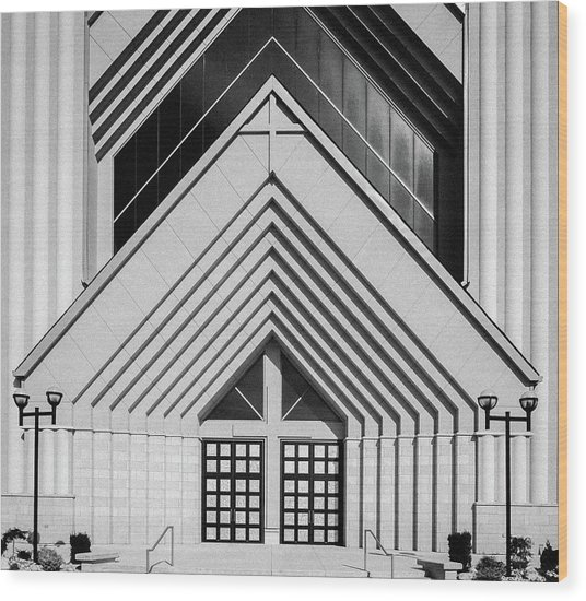 Abstract Architecture - Brampton Wood Print