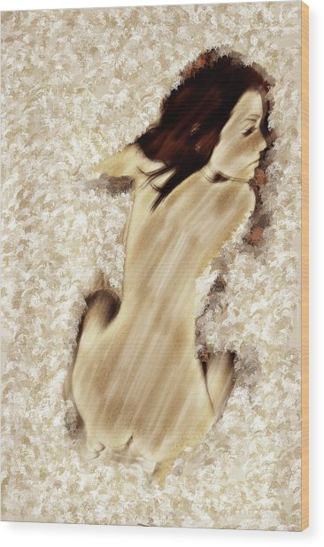 Abstract Beauty Wood Print