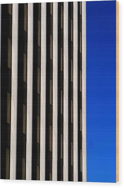 Abstract Building 2011 Wood Print