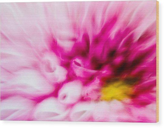 Abstract Floral No. 1 Wood Print