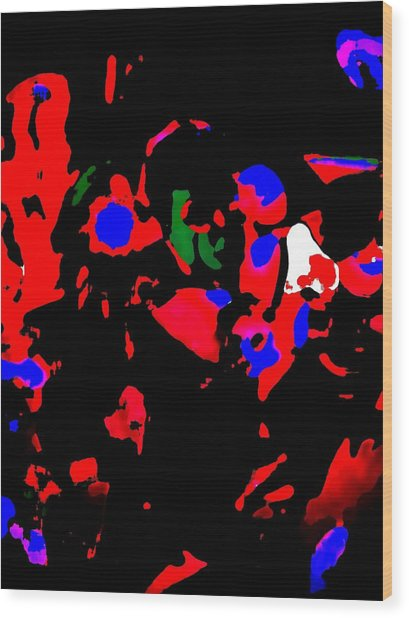 Abstract Images Wood Print by HollyWood Creation By linda zanini