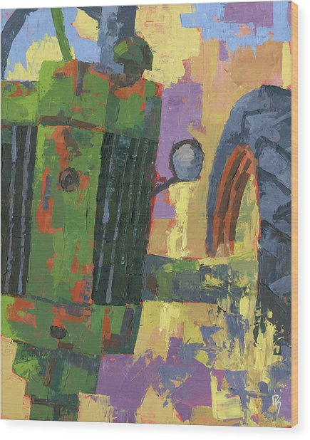 Abstract Johnny Wood Print