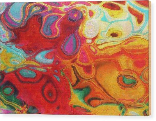 Abstract No. 20 Wood Print