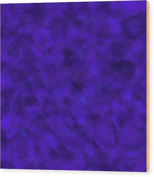 Wood Print featuring the photograph Abstract Purple 7 by Clare Bambers