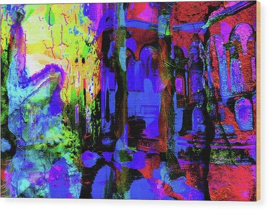 Abstract Series 0177 Wood Print