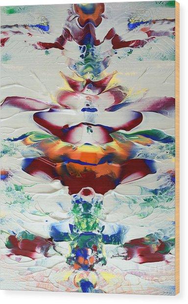 Abstract Series H1015al Wood Print