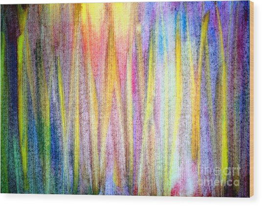 Wood Print featuring the painting Abstract Watercolor A2 1216 by Mas Art Studio