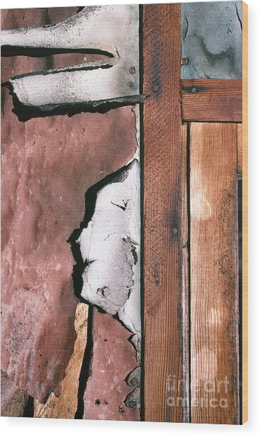 abstract western rural photographs - Coolidge Montana Wall Wood Print
