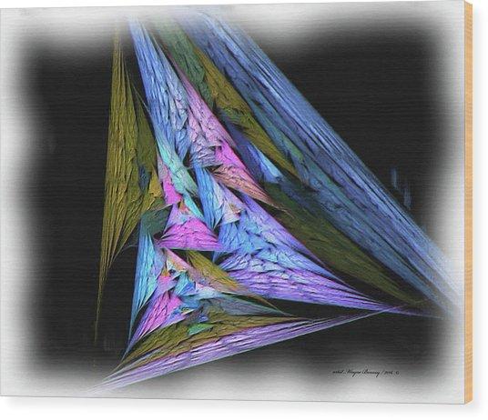 Abstract2016 Wood Print