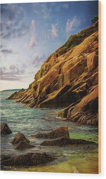 Acadia National Park--maine Wood Print