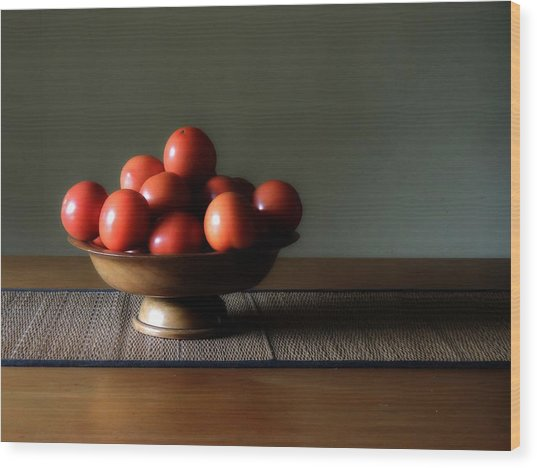 Accidental Still Life. Wood Print