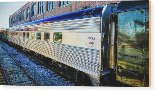 Moultrie Dining Car Wood Print