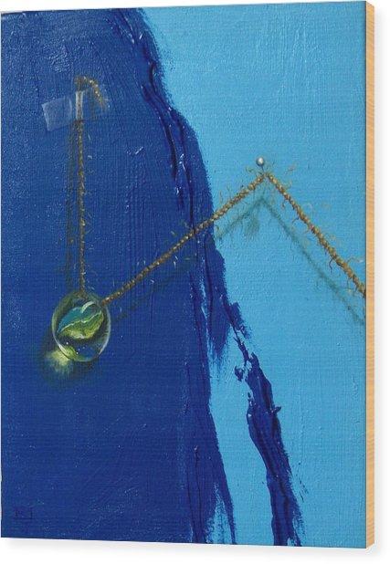 Acrobatics Number Two Wood Print