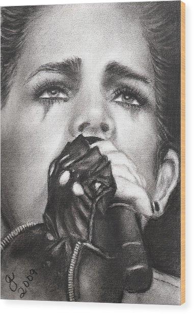 Adam Lambert Wood Print by Grace Rose