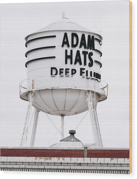 Adams Hats Deep Ellum Texas 061818 Wood Print