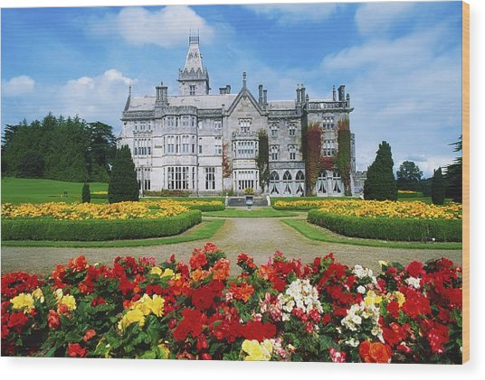 Adare Manor Golf Club, Co Limerick Wood Print
