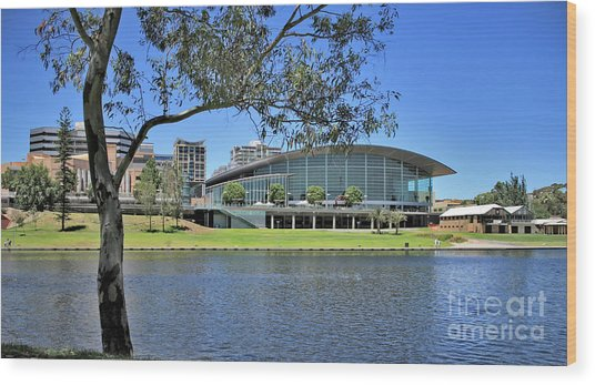 Adelaide Convention Centre Wood Print