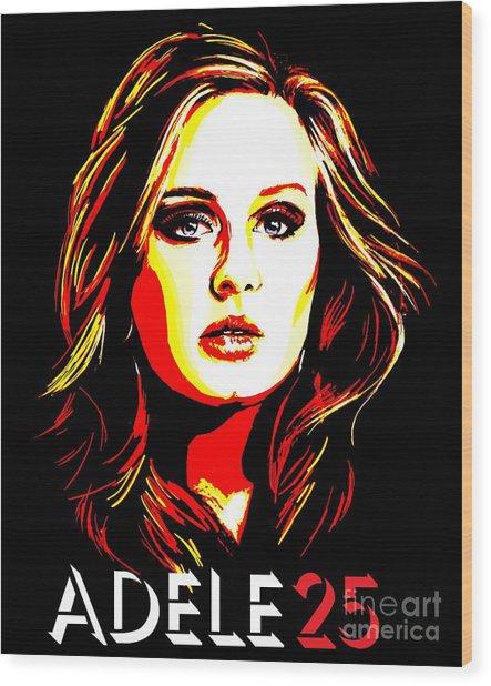 Adele 25-1 Wood Print